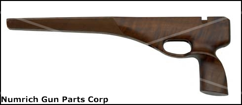 Stock, .22 LR, Pistol, Walnut Silhouette - Single Shot 64 Action