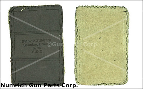 Barrel Hand Mitt -For Protection When Changing MG-42 Machine Gun Barrels. Canvas