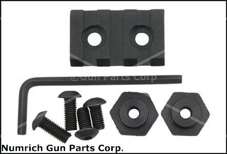 "Handguard Mount, Short (1.375"" Long; Attaching Hardware & Instructions Included)"