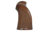 Grip, Target, RH, Checkered Walnut w/ Thumbrest