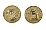 Falcon Head Grip Medallion Set, Gold