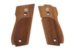 Grips, Checkered Walnut, Standard Non-Ambi Safety Models, Used Original, Excel