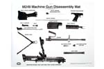 "Disassembly Mat Poster, B/W, 30"" x 40"""