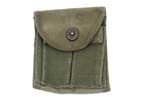 Clip Pouch, G.I., Marked U.S, Fair Condition
