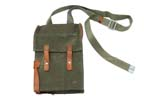 Flare Pistol Carrying Case, OD Canvas & Leather
