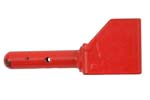 Blank Firing Device, Danish Surplus, Steel, Painted Red, Used Good Condition