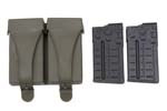 Magazine, 20 Rd. & Pouch Set (Inc. 2 Aluminum Mags & Green Rubber Pouch)