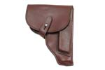 Holster, Leather, Lighter Reddish Brown, East German, VG to Exc. Condition