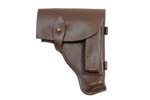 Holster, Leather, Brown, Polish, VG to Exc. Condition