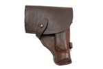 Holster, Leather, Brown, Russian 1980's, VG to Exc. Condition