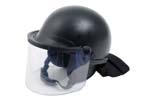 1087380 Riot Duty Helmet, TacElite EPR, Model 906, Size Large, Exc.Cond. w/ Scratches -