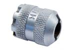 Blank Firing Device, Style 3, .795&quot; OD, Dbl Row Coarse Knurling, 8 Notch