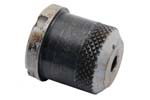 "Blank Firing Device, Style 7, .690"" OD, Blued, Coarse Knurling, 4 Notches"