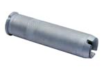 Blank Firing Device, Long Style 2-3/4&quot;, .685&quot; OD, Silver, Slotted Top, Orig.