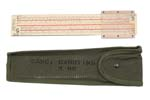 1087820 Graphical Firing Scale w/Canvas M 86 Carrying Case, FSN# 1220-764-5425 - -