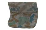 Magazine Pouch, 3 Pkt, Camo, For 30 Rd. Curved Magazines, Dutch Military Surplus