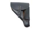 Holster, Black Leather, Post WWII, VG to Exc