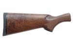 Stock 12GA B Grade, Walnut, Cut-Checkered,Gloss Finish,Blk Teardrop Grip Cap