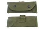 Grenade Launcher Sight Pouch, M15, Damaged, Belt Clip Removed, Sold As Is - -