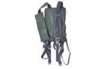 Padded Carry Strap Rig, Style B, East German Military, Used - -
