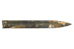 """Bayonet Blade Cut-Off, Approximately 9"""" (Removed from Demilled M1942 10"""" Blade)"""