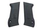 Grips, Black Plastic w/ Pebble Finish & IMI Logo, Orig., New