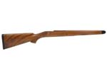 Stock, RH, .375 H&H/.416 Rigby, Heavy Barrel, Wlnt Cut-Checkered, Satin Finish
