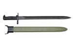 "Bayonet, 1942, 16"" Blade & M3 Scabbard, Mil Spec Reproduction"