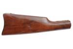 Stock, Straight Grip, Walnut w/ Blued Saddle Carbine Buttplate, New