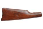 Stock, Straight Grip, Walnut w/ Blued Saddle Carbine Buttplate, New
