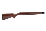 Stock, DM, RH, S/A, Walnut, Cut-Checkered, Satin Lacquer Fin., Ebony Forend Tip