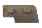 Cartridge Guide Plate Steel Casting, Unfinished