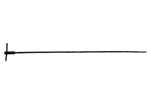 "Cleaning Rod, Steel w/ T-Handle, OAL 25"", Original, Used Good"