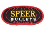 "Garment Patch, Speer Bullet, 4"" x 2"", Yellow/Black/White, New"