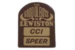 "Garment Patch, The Good OL Boys Lewiston Iron-On, 2-3/4"" x 3-1/2"", New"