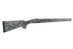 Stock, L/A, ADL, RH, Synthetic, Checkered, Mossy Oak Breakup Camo, New