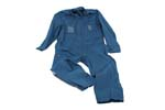 French Aviator Jumpsuit, Blue, Size Small, New - -