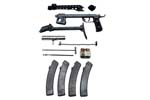 Parts Kit Less Barrel, PPSH-43 7.62 x 25mm w/ Four 35 Rd. Magazines, VG to Exc