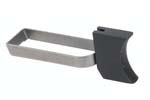 Trigger, Long, New, Black Anodized Aluminum (w/ Steel Bar)