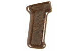 Pistol Grip, Rear, Pressed Diamond Checkering, Reddish/Brown Bakelite