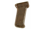 Pistol Grip, Rear, Raised Diamond Checkering, Reddish/Brown Bakelite