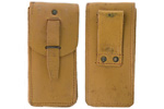 Pouch, Cleaning & Maintenance Kit, Tan Leather, Original, Very Good to Excellent