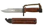 Bayonet & Scabbard, Soviet Type II, Used - Good to Very Good Condition