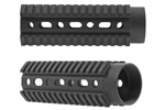 "Free Float Quad Rail Tube, Tactical, OAL 6.5"", Fits CAR Length AR15/M4 Carbines"