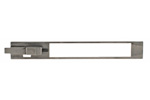 Action Bar Assembly, 12 Ga., 3&quot;, Stainless