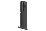 Magazine, 9mm, 18 Round, Matte Black, New (Flush-Fit; Mec-Gar)