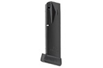 Magazine, .40 S&W, 15 Rd., Extended, Anti-Friction Coating, Matte Black, Mec-Gar
