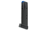 Magazine, .40 S&W 14 Rd, Extended, Anti-Friction Coating, Matte Black, Mec-Gar