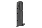 Magazine, 9mm, 17 Round, Blued, New (Flush Fit; Mec-Gar)