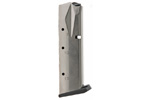 Magazine, 9mm, 17 Round, Nickel, New (Flush Fit; Mec-Gar)